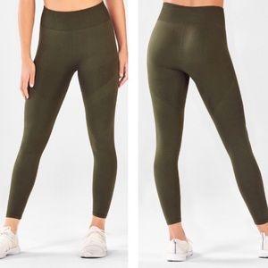 FABLETICS Dark Olive Green Seamless Leggings